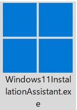 winndws11のダウンロード実行ファイル